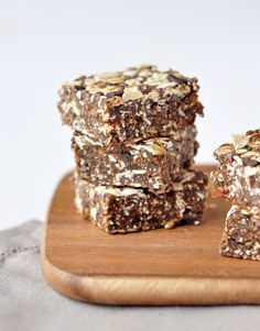Recipe: Raw cacoa energy bars