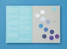 Lovely colour palettes from the Colorplan swatchbook