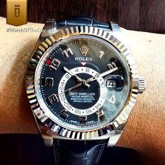 Rolex Sky Dweller 42mm.                                                                                                                                                                                 Mais