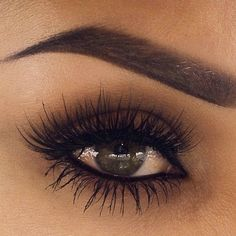 Long lashes and perfect brows