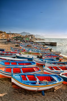 Aspra, Palermo, the isle of Sicily, Italy.