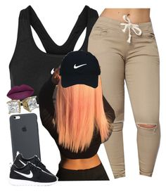 """✨"" by newtrillvibes ❤ liked on Polyvore featuring NIKE and Nike Golf"