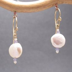 Beautiful pair of earrings to add to your jewelry Armoire or box.