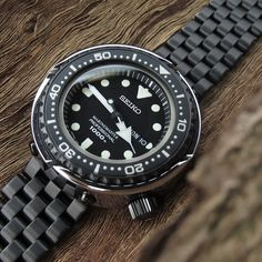 #MiLTAT PVD Black Super Engineer I on #seiko #marinemaster #SBBN029 #strapcode
