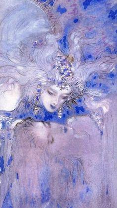 Alphonse Mucha, Pretty Art, Cute Art, Yoshitaka Amano, Drawn Art, Arte Obscura, Shizuoka, Ap Art, Japanese Artists
