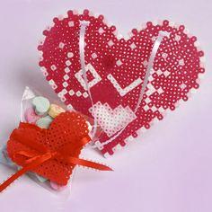 Hearts of Love | Perler Beads