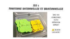 Jeu fonctions #math - YouTube Math Work, Jouer, Facebook, Make It Yourself, Instagram, Blog, Rational Function