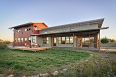 Full Metal Building Home w/ Great Exterior & Interior Design (8 Pictures) | Metal Building Homes