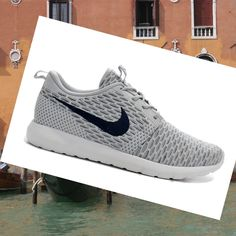 pretty nice 4661d 73658 Nike Roshe Run Flyknit Grigio Scarpe Uomo,HOT SALE! Sophia Wong · Fashion  shoes