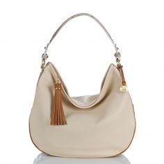 The new #brahmin kathleen hobo in smooth creme verano leather. #summer2013