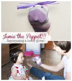 Jamie the Puppet, Repurposing a lonely gove =P