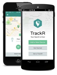 tracking application on iphone