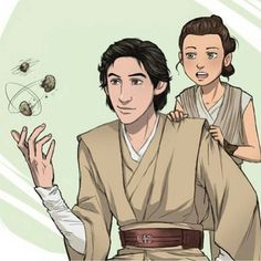 EEEEEK I LOVE THIS WITH ALL OF MY HEART Ben makes a very attractive jedi