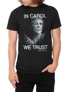 The Walking Dead In Carol We Trust T-Shirt | Hot Topic