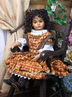 Creole Bru #Sayuri #Bru #doll #BruJne #bebe #BruDoll #antique