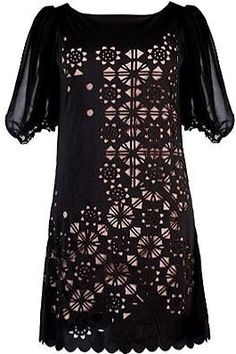 #Rickety Rack             #night dress              #Laser #Night #Dress #Eyelet #Shift #Dresses #Rickety #Rack                   Laser Cut Night Dress   Eyelet Shift Dresses   Rickety Rack                                             http://www.seapai.com/product.aspx?PID=1069508