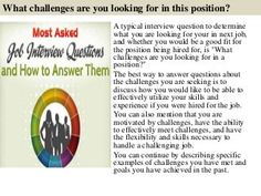 top 10 promotion interview questions with answers