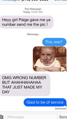 The Cage Approach: | 26 Absolutely Perfect Ways To Respond To A Wrong Number Text