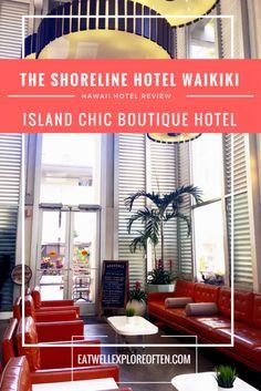 Hotel Review in Waikiki, Honolulu, Hawaii: The Shoreline Hotel Waikiki