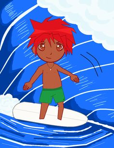 Microsoft Paint, surfer guy. Surfer Guys, Microsoft Paint, Origami, Sketches, Anime, Painting, Fictional Characters, Art, Drawings