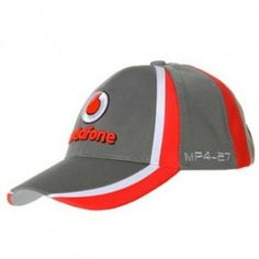 Vodafone McLaren Mercedes Grey Team Cap Paddock Studio. Available at www.paddockstudio.com