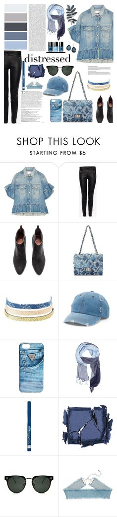 """""""Senza titolo #5671"""" by waikiki24 ❤ liked on Polyvore featuring MSGM, Alexander McQueen, Charlotte Russe, Balmain, Mudd, GUESS, MANGO, Oris, Surratt and Spitfire"""