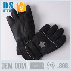 2017 Winter outdoor waterproof sports heated ski gloves with good quality #gloves_ski, #winter