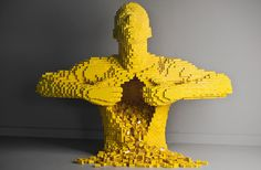 1: Yellow | Making Lego Into Art: Nathan Sawayas Impossible Brick Sculptures | Co.Create: Creativity \ Culture \ Commerce – Things We Find