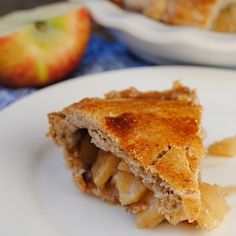 Walnut-Crusted Apple Pie   adapted from Cooking Light