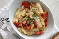 Pasta with Grilled Fennel-Tomato Sauce | WeeklyGreens.com