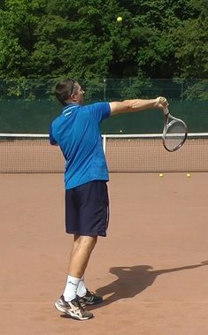 isolating pronation in the serve