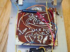 1970 Electro Harmonix Big Muff Pi Triangle Vintage Fuzz Guitar Effect Pedal V1