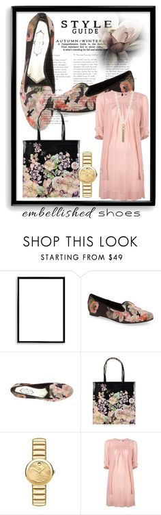 """""""Ted Baker Shoes&Bag..Embellished Shoes/Part 3"""" by julidrops ❤ liked on Polyvore featuring Bomedo, Ted Baker, Movado and Isabel Marant"""