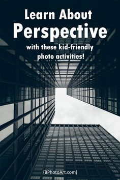 Today in our ABCs of Photography series, we're going to learn about perspective! As always, I'll be using simplified explanations that kids can understand (hooray!). Perspective is how you look at things. We see the world in three dimensions, but a photograph captures life and compresses it down into two dimensions. I like this definition I found on B&H Photo (read more about their explanation of … Read More
