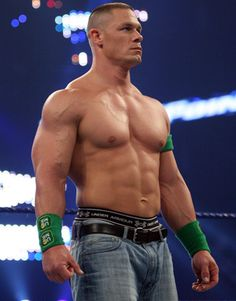 John Cena...... 1.cant fight2. Has a IQ of 4(I'm being nice with that score)3.only people with a IQ of 25 like Him 4. He fights in jean shorts(why just flipping why) 5. Lack of skill   Repin if u agree