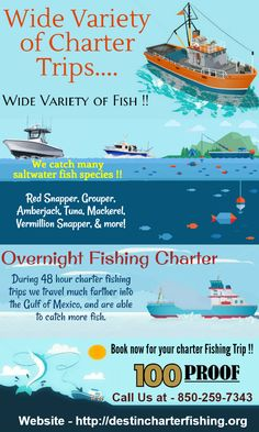 Overnight Fishing Charters in Destin, Fl