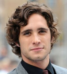 Perfect men's hairstyle. Just the right amount of wave and volume