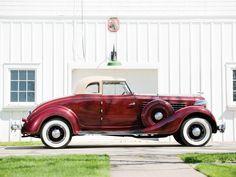 1935 Auburn 851 Custom Dual Ratio Coupe