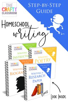 Designed to take children through a step-by-step process, our writing guides feature simple instructions, fun characters, handy tools and easytips that take the sting out of writing. Includes 4 of our writing guides: Writing a Biography, Writing Instructions, Writing Poetry, Writing a Research Pap