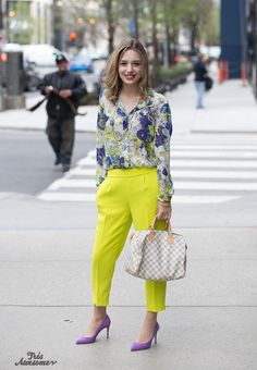 Très Awesome ♥ Chicago Street Style: Amelia Eaton on Michigam Avenue