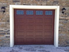 Elegant New Single Garage Door Installation