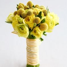 Lemon Zest - yellow wedding ideas for one of Pantone's 2013 colors. Photo: Real Simple.