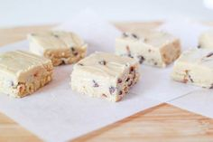 Cookie Dough Fudge by Sallys Baking Addiction
