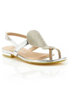 Diamante Disc Sandals by Kaleidoscope Holiday Style, Holiday Fashion, You Bag, Sandals, Heels, Bags, Heel, Handbags, Shoes Sandals