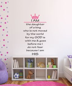 Another great find on #zulily! 'I Am' Wall Decal by DecorDesigns #zulilyfinds