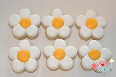 mother's day cookies - flower cookies