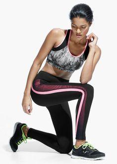 Fitness & Running - Leggings efecto reductor by @mangofashion #CCElSaler