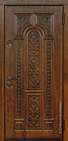 Wooden Doors For Sale Wooden Front Door Design, Main Entrance Door Design, Double Door Design, Door Gate Design, Wooden Front Doors, Wood Doors, Pooja Room Door Design, Door Design Interior, Interior Doors