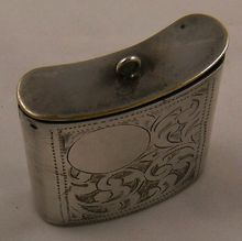 Vintage Silver Match Safe