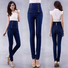 fashion tips to look slimmer high rise pants